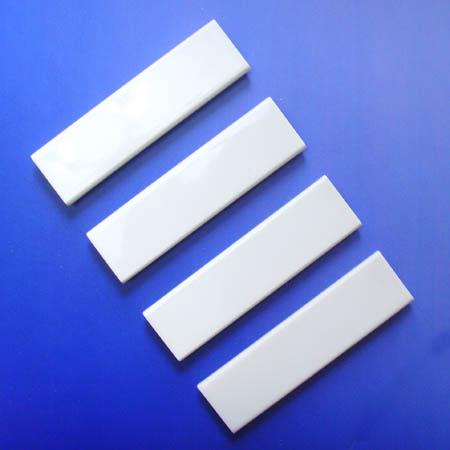 Cream ceramic plate