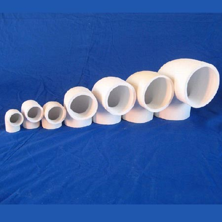 Ceramic bent tube