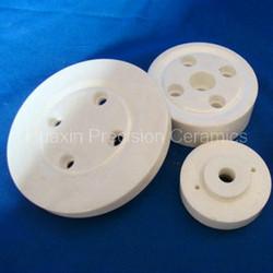 Precision alumina ceramic disk